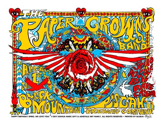 Paper Crowns Levy 25x19 REDUX color